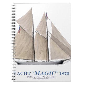 Magie 1870 notizblock