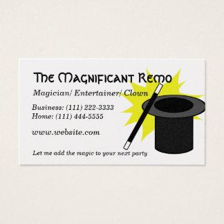 Magie ich Magier Visitenkarte