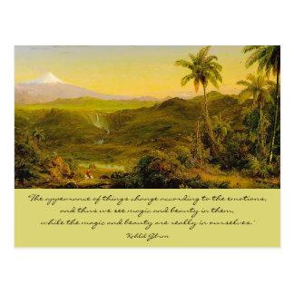 Magie und Schönheit Postkarte
