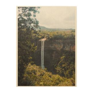Magie von Mauritius Holzdruck
