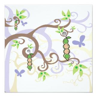 Magische Baum-Erbsen im Hülsen-Geschlecht decken Karte