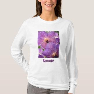 Magische blasses Veilchen-Orchideen T-Shirt