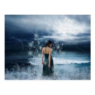Magische Digital-Entwürfe! Postkarte