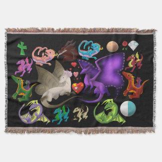 Magische Drache-Wurfs-Decke Decke