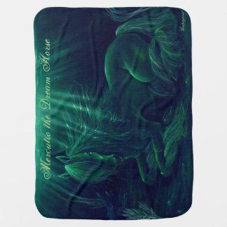 Magische grüne Decke - Mercutio das Traumpferd