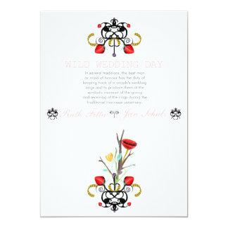 Magische Hochzeits-Sammlung Rupydetequila 2013 12,7 X 17,8 Cm Einladungskarte