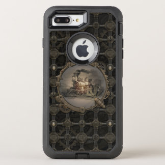 Magische Laterne - Steampunk. OtterBox Defender iPhone 8 Plus/7 Plus Hülle