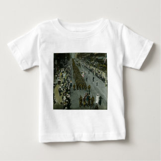 Magische Laternen-Dia 1918 WWI Parade-New York Tshirt