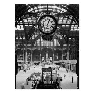 Magische Laternen-Dia Penn Stations-New York Postkarte