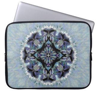 Magische Mandala-Laptop-Hülse Laptopschutzhülle
