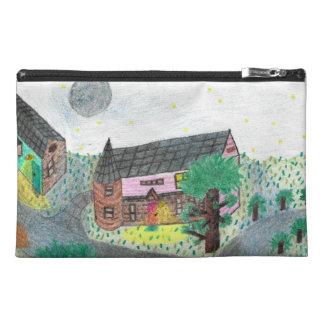 Magische Nachtnachtzeit-Szenen-Zusatz-Tasche Reisekulturtasche
