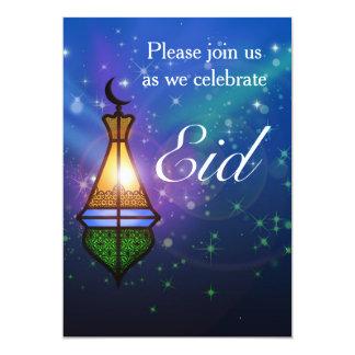Magische orientalische Laterne - Eid Party 12,7 X 17,8 Cm Einladungskarte