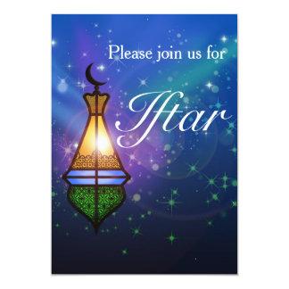 Magische orientalische Laterne - Iftar Party 12,7 X 17,8 Cm Einladungskarte