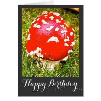 Magische Pilz-alles- Gute zum Geburtstagkarte Karte