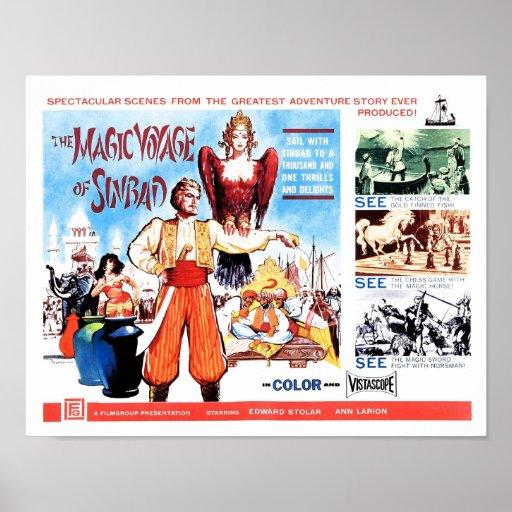 Magische Reise von Sinbad Plakate