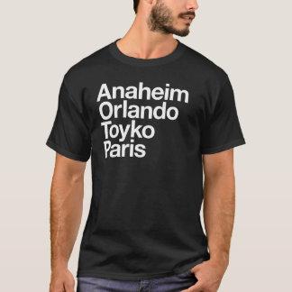 Magische Städte für Männer T-Shirt