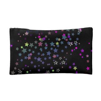 Magische Sterne, Stardust, Mitternacht-Schwarzes Kosmetiktasche