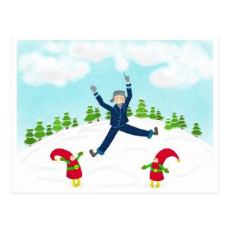 Magische Tree_Cotton Süßigkeit! Postkarte