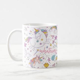 Magische Unicorn-Kaffee-Tasse Kaffeetasse