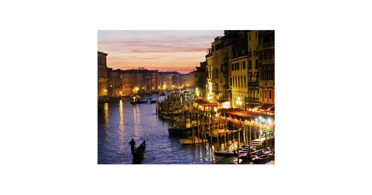Magische Venedig-Postkarte Postkarte   Zazzle.de