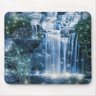 Magische Wasserfall-Mausunterlage Mauspads