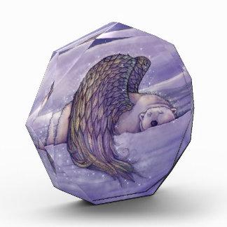 Magische Winged Bärn-Acryl-Dekoration Auszeichnung