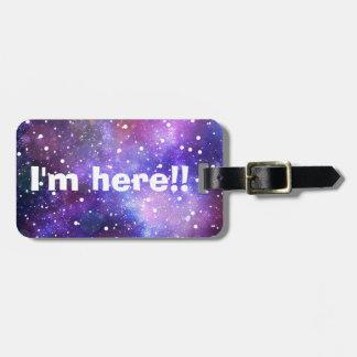 Magische Wunschkunst der Sternraumgalaxie Gepäckanhänger