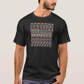 """Magischer Augen- ® 3D """"Fußball-"""" T - Shirt"""