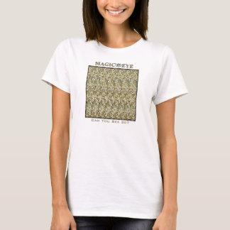 """Magischer Augen- ® 3D """"Trugbild-"""" T - Shirt"""