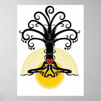 Magischer Baum Poster