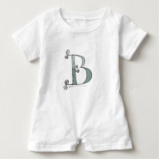 Magischer Buchstabe B von tony fernandes Entwurf Baby Strampler