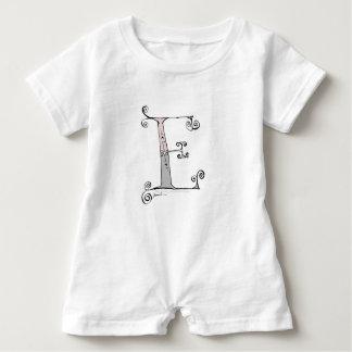 Magischer Buchstabe E von tony fernandes Entwurf Baby Strampler