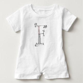 Magischer Buchstabe F von tony fernandes Entwurf Baby Strampler