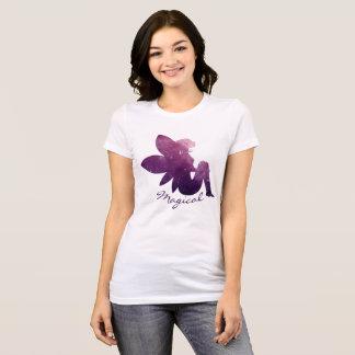 Magischer feenhafter kosmischer Galaxie-Raum T-Shirt