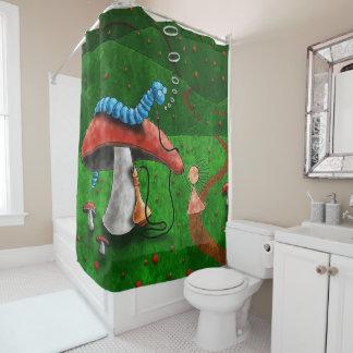 magischer Pilz Duschvorhang