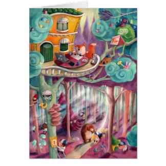 Magischer Wald Karte