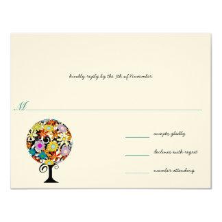 Magischer Waldkreis der Liebe-Wedding Einladungen