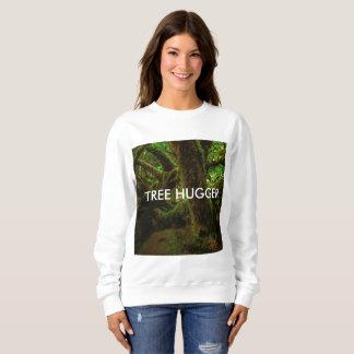 Magisches Baum des Waldes Hugger Sweatshirt