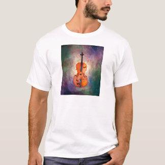 Magisches Cello mit Schmetterlingen T-Shirt
