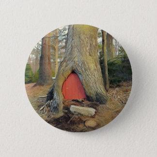 Magisches Elf-Haus Runder Button 5,1 Cm