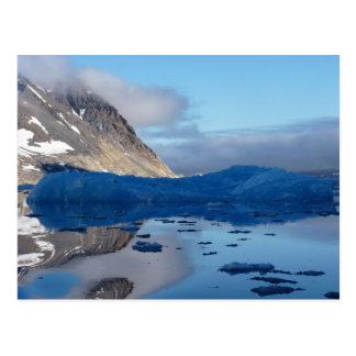 Magisches Svalbard Postkarte