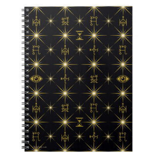 Magisches Symbol-Muster Notizblock