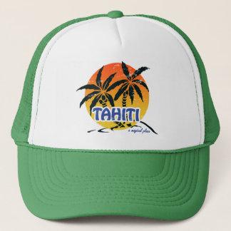 Magisches Tahiti Truckerkappe