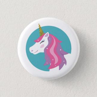 Magisches Unicorn-Button-Abzeichen Runder Button 3,2 Cm