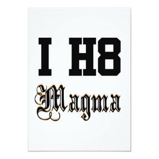 Magma 12,7 X 17,8 Cm Einladungskarte
