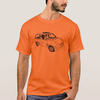Magnesium-Metro-inspirierter T - Shirt