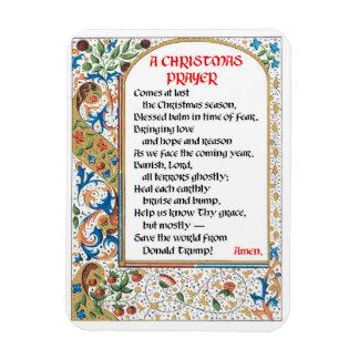 Magnet #1 des Weihnachtsgebets-(Donald Trump)