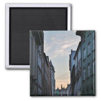 Magnet: Alte Stadt Krakaus Quadratischer Magnet