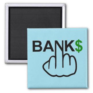Magnet-Banken verderben Quadratischer Magnet