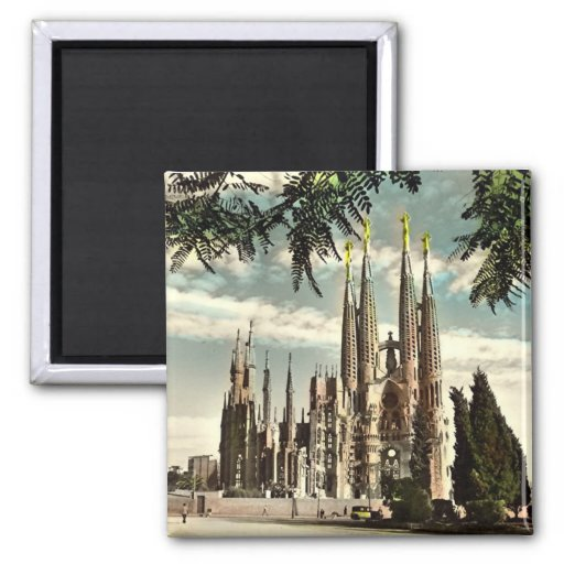Magnet - Barcelona, Sagrada Familia Kühlschrankmagnete